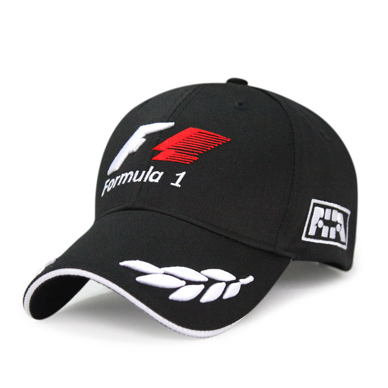 Racing   Cap   Formula 1   Baseball     Cap   Black F1 Style Hats For Men Car Motorcycle Racing Casquette Outdoor Sports Sun Hat