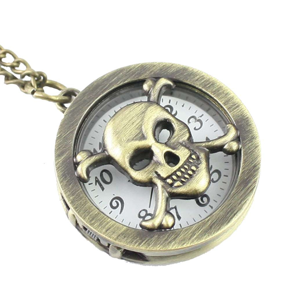 2017 Antique Vintage Steampunk Retro fashion Necklace Pocket Watch Drop Shipping dropshipping 3 24
