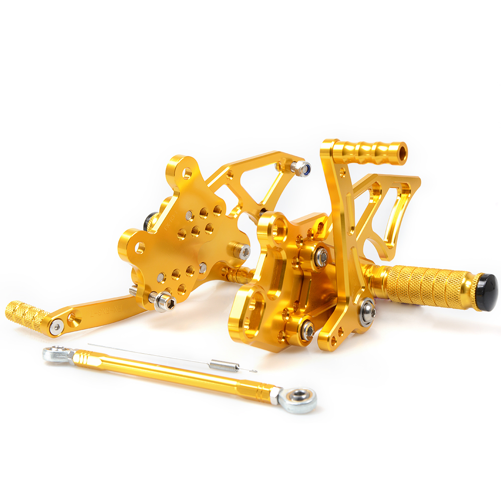 Foot Rests For YAMAHA YZF R3 R25 2013 - 2016 CNC Adjustable Rearsets Foot Pegs Rest Rear Set YZF-R3 YZF-R25 Black Gold Blue Red morais r the hundred foot journey