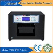 Impresora textil digital t-shirt máquina de impresión de inyección de tinta