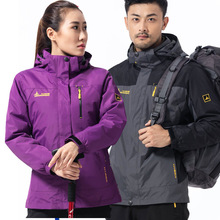 Winter Inner Tank Hiking Jacket Men Women Soft Shell Waterproof Windbreaker Fleece Outdoor Sport Camping Trekking Skiing Jackets men s winter waterproof jacket women soft shell rain fleece outdoor sport warm brand coat hiking camping trekking skiing jackets
