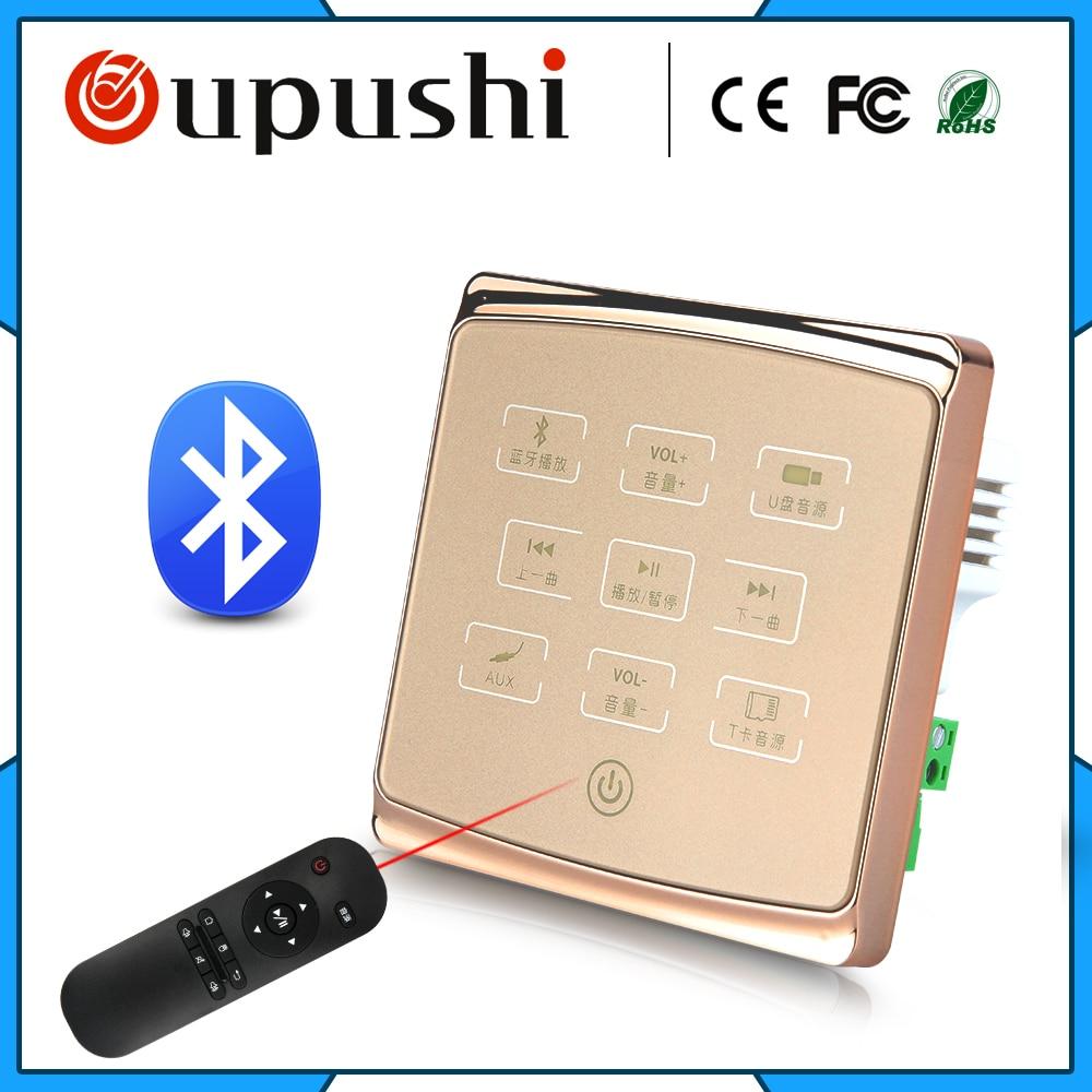 Бесплатная доставка дешевые беспроводные <font><b>Bluetooth</b></font> умный дом фоновая музыка усилитель стены домашний кинотеатр
