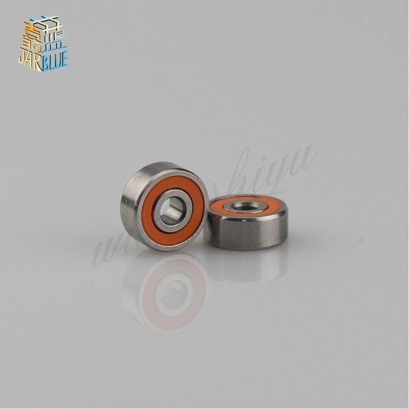 Free Shipping 3X10X4 10PCS 5x11x4 5pcs Stainless Steel Hybrid Ceramic Bearings Fishing Reel Shaft Bearings By