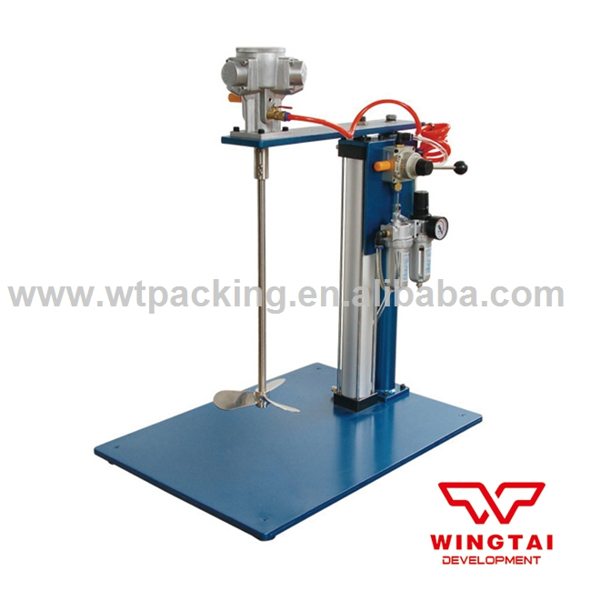 No.800 Pneumatic Ink Mixing Machine Ink Agitator For Paint ,Ink hand held pneumatic paint mixer stainless steel mixer blade ink mixer machine 5 gallons agitator pneumatic mixing