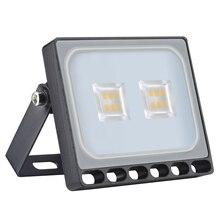 Ultraslim 10W LED Floodlight Outdoor Security Lights 110V Warm White Waterproof IP65