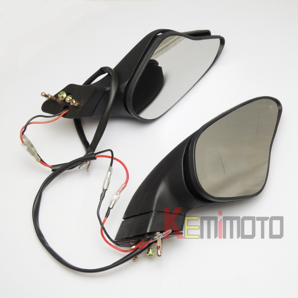 1098R 1198 S 1198R Turn Signal font b Lights b font Rearview Mirrors for DUCATI 848