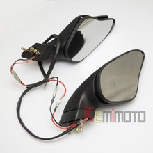 1098R 1198  S 1198R luces de giro espejos retrovisores para DUCATI 848 1098 1098 S un par nueva marca