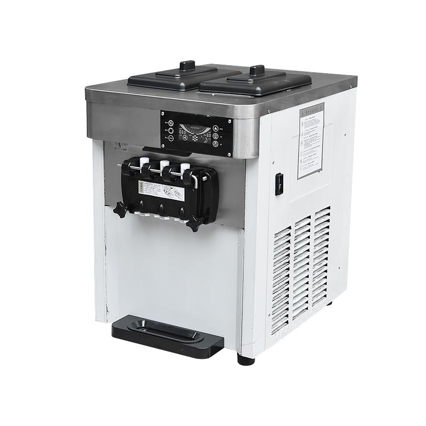 VTS Commercial Soft Ice Cream Maker Three Ice Cream Machine Tastes 2500 W Professional Yogurt Machine 220V/50 Hz 24-28L /H все цены