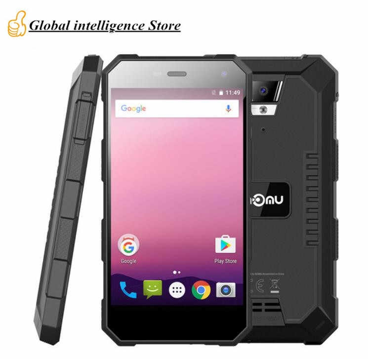 Ному S10 Pro 5 0 &quotмобильный телефон IP68/IP69K Водонепроницаемый 5000 мАч 9 В/2A Quick Charge mtk6737t