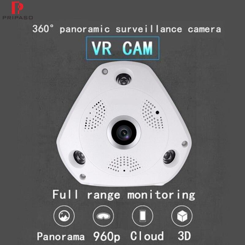 360 caméra 960 P Wifi caméra 360 degrés caméra panoramique sécurité à domicile vidéo Surveillance Fisheye caméra 3D VR