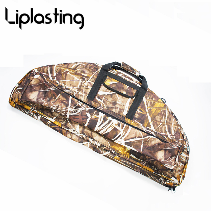Ourpgone Brand 1*Outdoor Hunting Compound Bow Bag Archery Arrow Carry Bag Case Hunting Quiver Holder 95cm 115cm Free shipping! outdoor camouflage archery hunting arrow quiver water resistant archery quiver holder caza arrows bow quiver bag with zipper