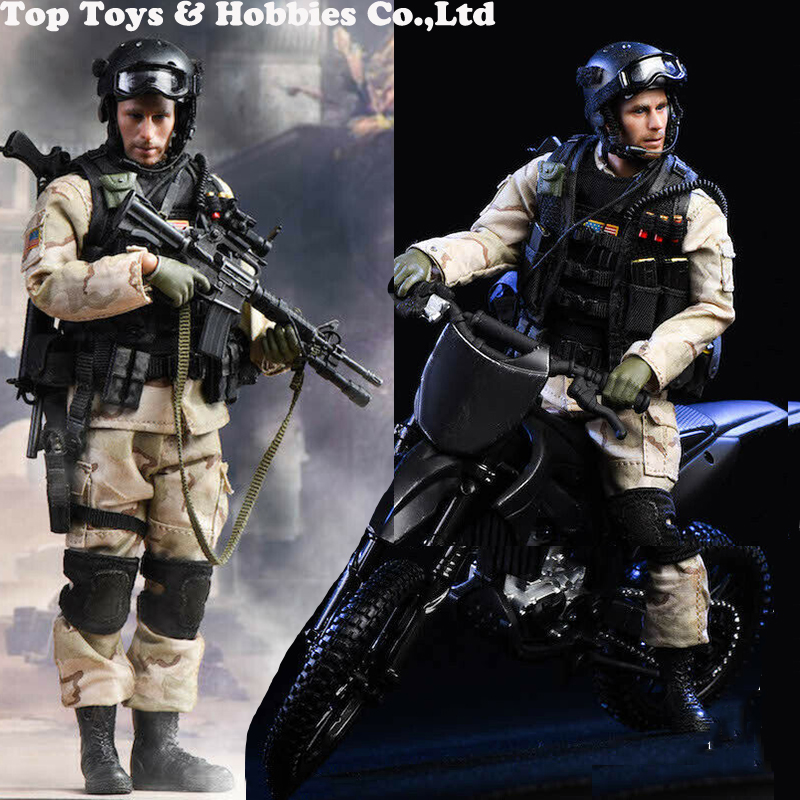 For Collection Full Set Soldier Doll Figure PLAYHOUSE PH 1/6 Soldier US Military Navy Seal Team 6 Double K9 W/dog Figure Toy