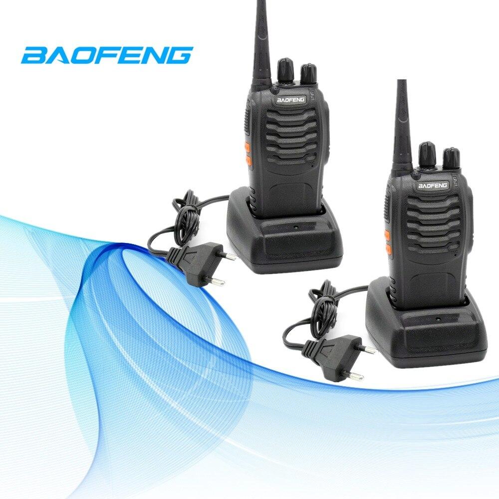 2 pcs Baofeng BF-888S Portable CB Radio Talkie Walkie BF 888 s UHF 400-480 mhz Transmetteur FM 5 w Radio Émetteur-Récepteur de Remorquage-Way Radio