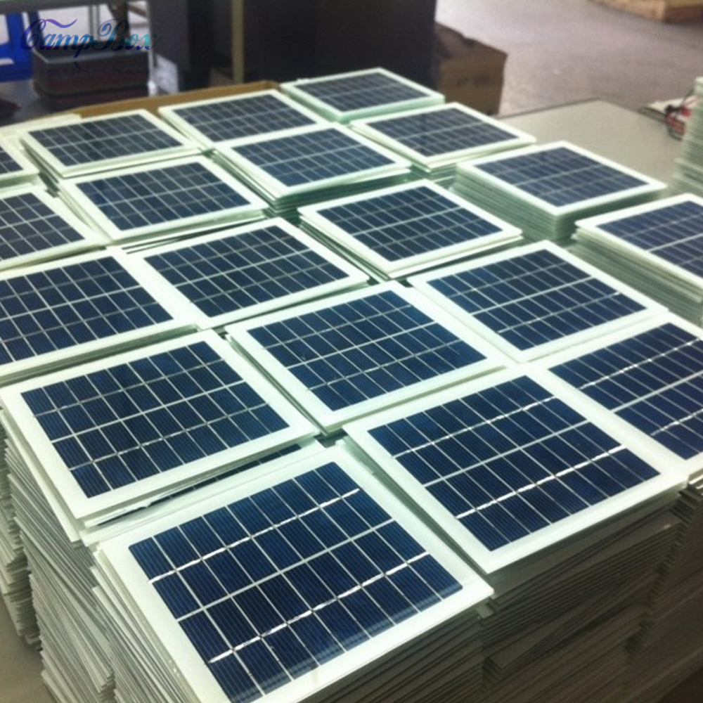 1Pcs 9V 2W 135mm*125mm Glass Laminated Polycrystalline Silicon Solar Cell, Solar Panel