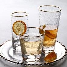 Пятно высокого качества ручной работы молотки-глазами стеклянная чайная чашка сока чашка зеленого чайная чашка