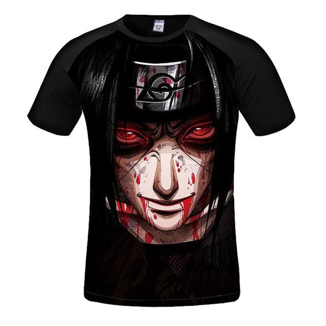 Naruto Anime 3d T-shirt