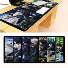 Yuzuoan Large Overlock 90x40cm pad to Mouse Notbook Computer Mousepad best Seller Gaming Gamer For New Design Naruto
