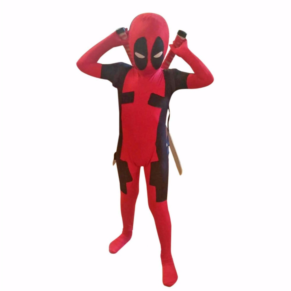 Kids Deadpool Costume Spandex Lycra Full Body Zentai Suit Superhero Costumes Bodysuit Carnival Costumes for Children Custom Size-in Boys Costumes from ...  sc 1 st  AliExpress.com : superhero costumes kids  - Germanpascual.Com