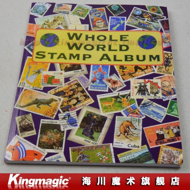 Stamps Book Magic stamp Album Close Up Magic Props
