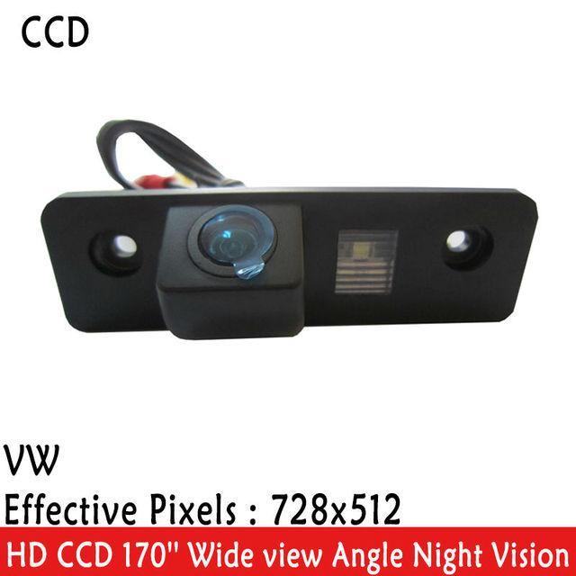 LED Night Vision 170 ''Ângulo de visão Ampla à prova d' água HD CCD Retrovisor do carro Câmera Reversa Backup para VW SKODA ROOMSTER OCTAVIA FABIA