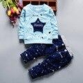 Meninos T Shirt Set Roupas Graffiti Imprimir Moda Outono Algodão Trajes Agasalho Outfit Roupa Das Crianças Set Terno Esporte Infantil