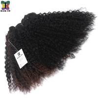 HAIR SW Deep Wave 100 Kanekalon Brazilian Synthetic Hair Weaving Extensions Crochet Weave Ombre For Afro