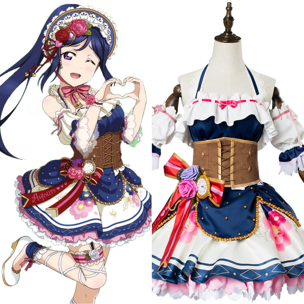 Love Live Sunshine Cosplay Kanan Matsuura Costume Valentine's Day Cosplay Costume  Full Set Uniform Halloween Women Costume
