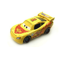 1pcs Disney NO 95 Yellow Macqueen Race Car Pixar Cars Diecast Figure Toy Alloy Car Model