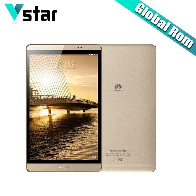 Международный Huawei MediaPad M2 8.0 дюймов WI-FI/LTE 3 ГБ Оперативная память 32 г/64 ГБ Встроенная память из металла Планшеты KIRIN 930 Octa core 8.0MP нескольких языков P