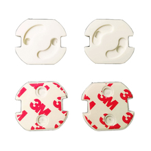 Socket-Protective-Cover Safety-Plug Electric-Shock Against Baby New 10pcs/Lot ABS Round