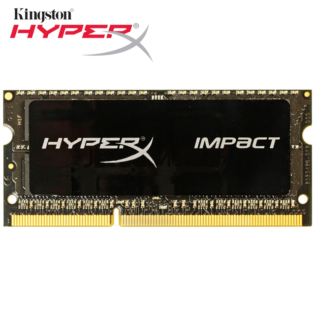 Ddr Kingston HyperX 3 8 gb Preto Impacto 1866 MHz DDR3L CL11 SODIMM 1.35 V ddr sdram de Memória DDR3 1866 8 GB Ram para Notebooks Laptop