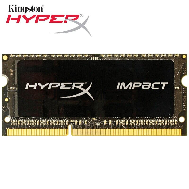 Kingston HyperX ddr 3 8 gb Impact Black 1866MHz DDR3L CL11 SODIMM 1.35V Memory DDR3 1866 8GB Rams ddr sdram for Notebooks Laptop new laptop rams for lenovo g40 g50 y40 y50 y410p ddr3 1600mhz 12800s 4gb ram memory chip bar