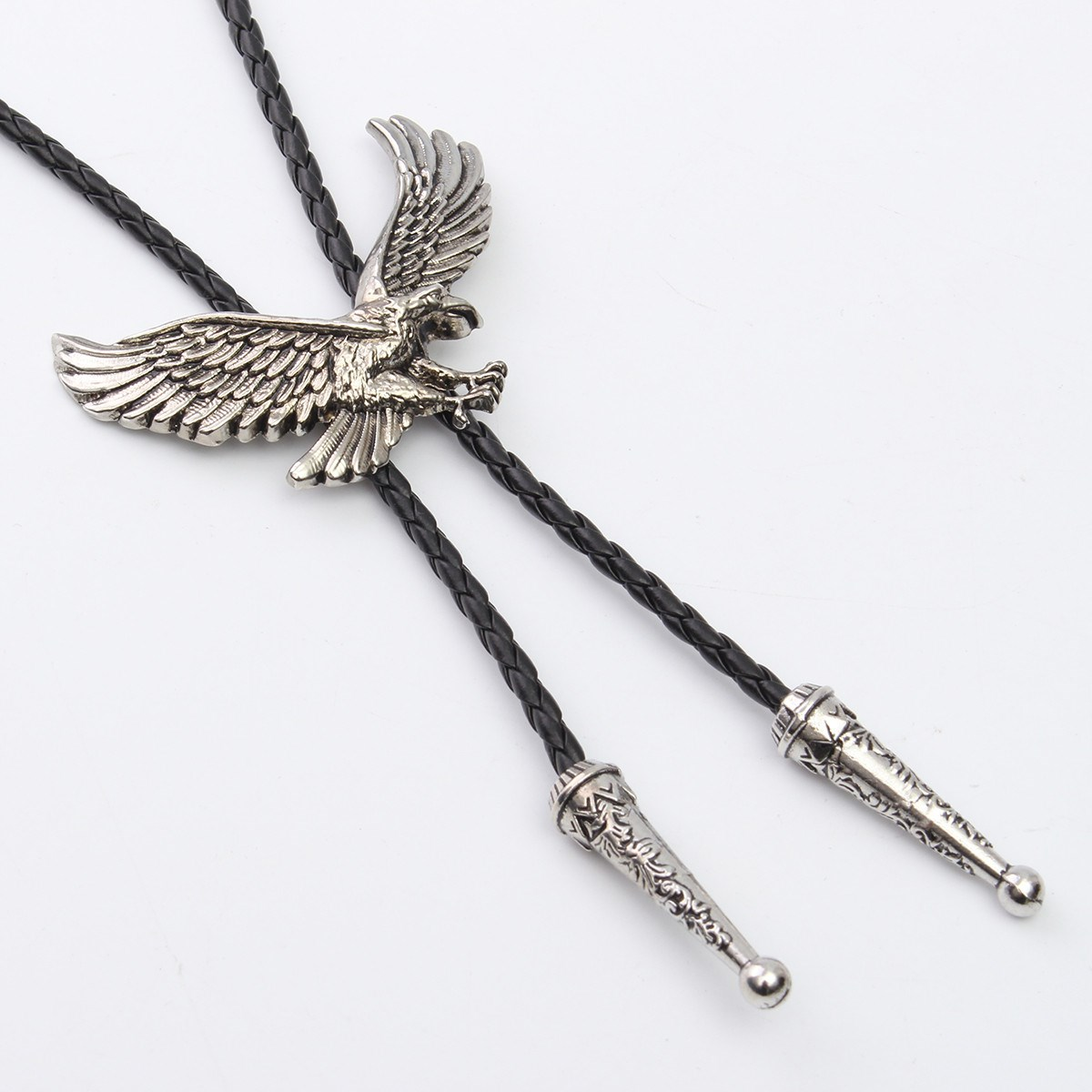 Apparel Accessories Fashion Indian Eagle Pendant Bolo Tie Western Cowboy Bootlace Animal Necktie Tie Necklace Jewelry For Men Syt9388 Be Friendly In Use