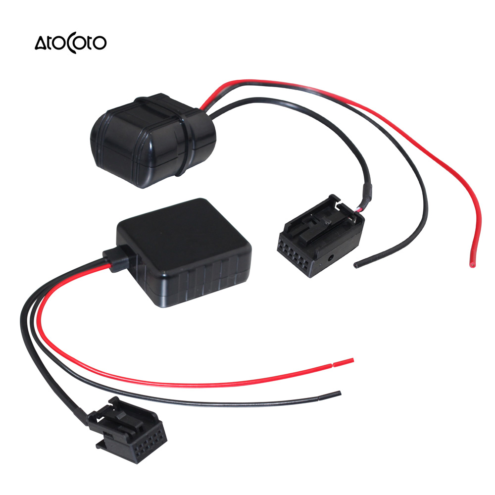 Car Bluetooth Module for Ford Focus Fiesta Radio Stereo Aux Cable Adapter  with Filter Wireless Audio Input