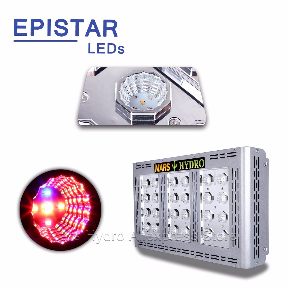 Mars ProII Epistar 600W LED Grow Light Full Spectrum Grow Light - Професионално осветление - Снимка 5