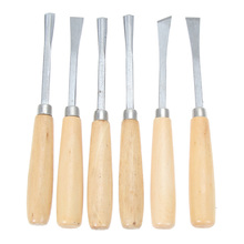 6PCS wood carving tool, chisel carving wood, tool chisel carving oblique hand tool, knife for carving carpentry-WK стоимость