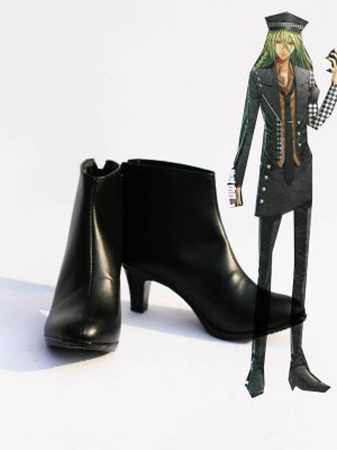 Amnesia UKYO Cosplay Shoes Boots Custom Made