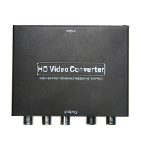 Hoge Kwaliteit HDMI naar 5 RCA RGB Component YPbPr Video + R/L Audio Adapter Converter HDTV Groothandel