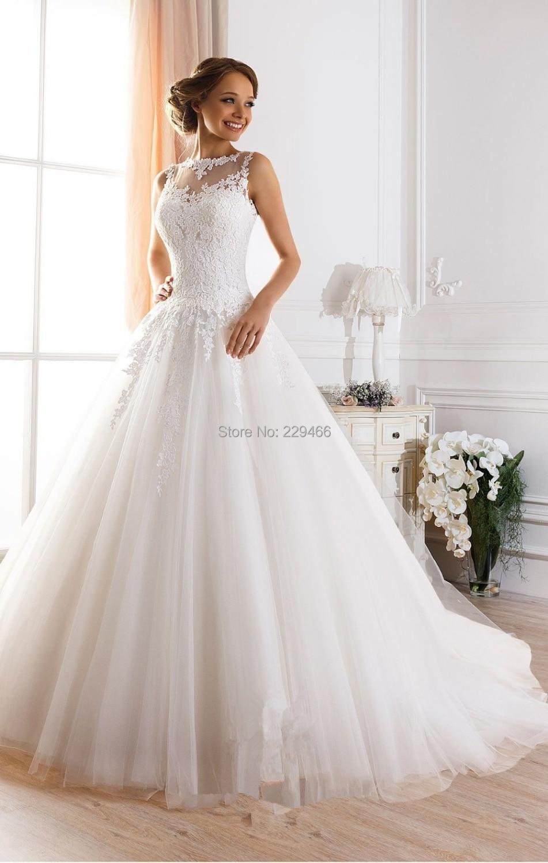 Search on aliexpress by image custom made vestidos de novia a line illusion neckline sexy backless lace wedding dresses 2015 bridal gown vestido de casamento ombrellifo Choice Image