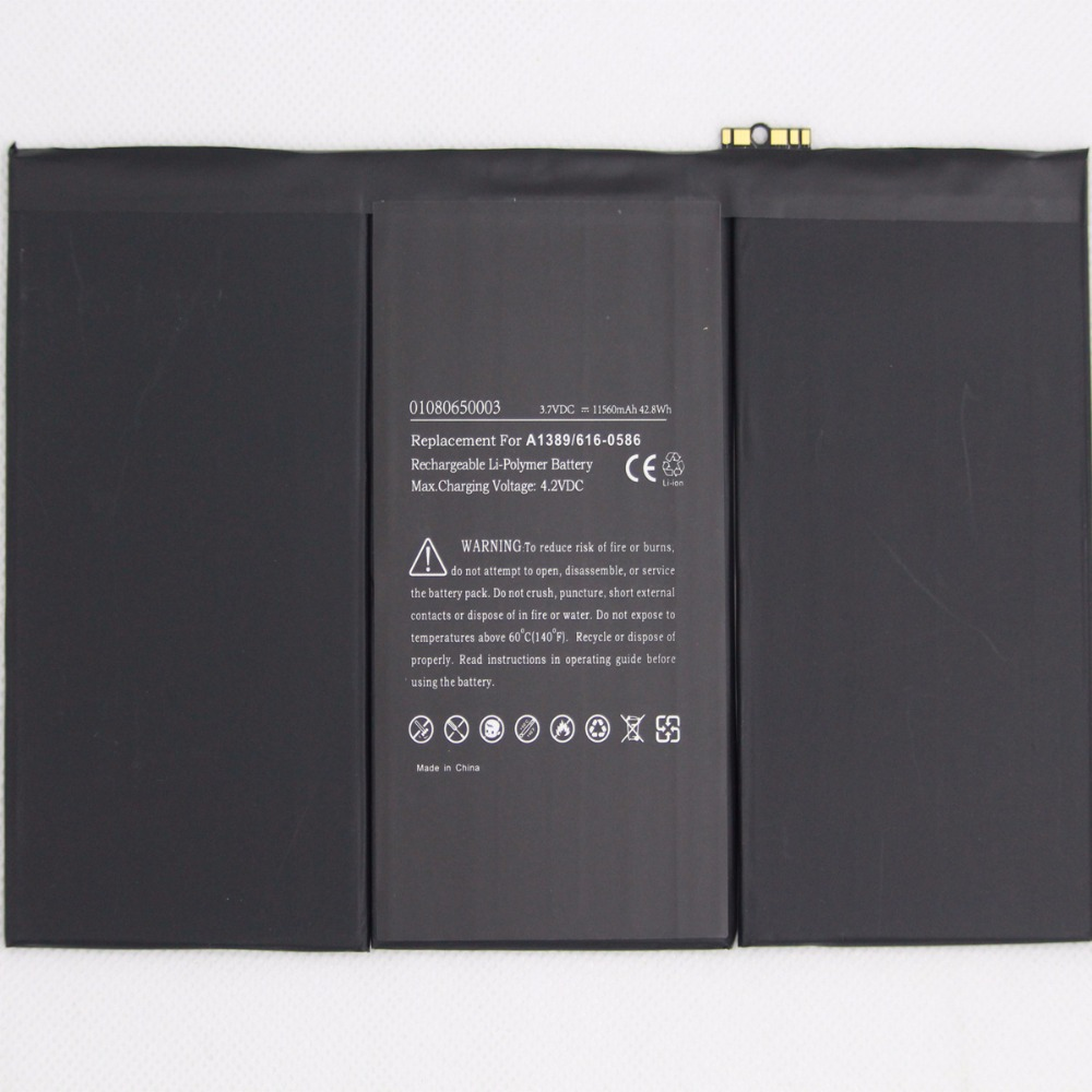 For iPad 3 4 A1389 Replacement  Battery A1403 A1416 A1430 A1433 A1459 A1460