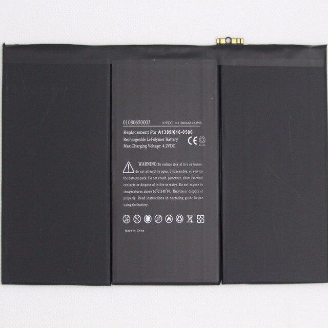 ISUNOO Pin Máy Tính Bảng cho iPad 3 4 rd 11560 mAh A1403 A1416 A1430 A1433 A1459 A1460 A1389 internal thay thế pin + công cụ