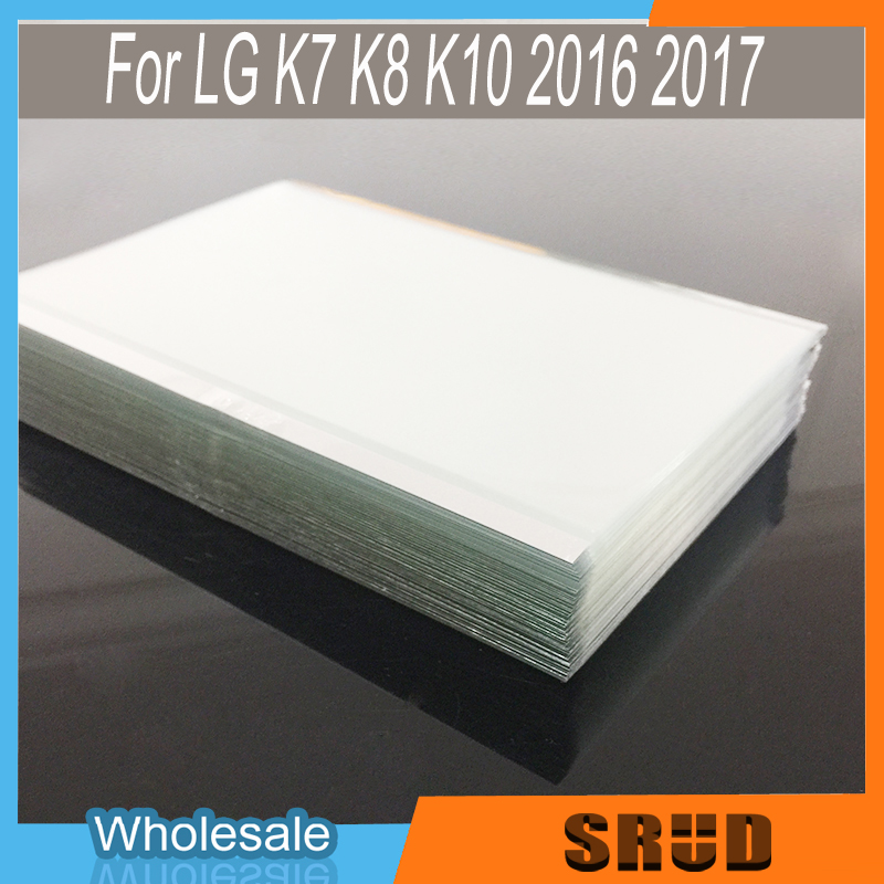 50Pcs OCA Optical Clear Adhesive Glue Film For <font><b>LG</b></font> K7 K8 <font><b>K10</b></font> k11 <font><b>2016</b></font> 2017 2018 LCD <font><b>Display</b></font> Front Glass Screen Sticker image