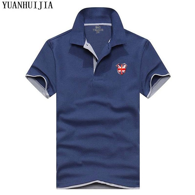 8a5f735c8e484 2018 moda impreso logo mens Polos marcas 23 colores casual Polo manga larga  Camisas para hombres