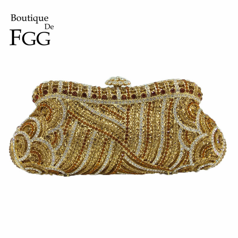 Online Get Cheap Crystal Clutch Gold -Aliexpress.com | Alibaba Group