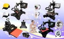 8 IN 1 Tshirt Mug Cap Plate Combo heat press machine Heat press Sublimation machine Press