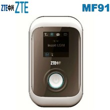 Brand New ZTE MF91 LTE 100Mbps ZTE MF91 4G LTE Pocket WiFi Router And Mobile WiFi Hotspot zte ufi mf980 lte mobile hotspot plus 2pcs antenna