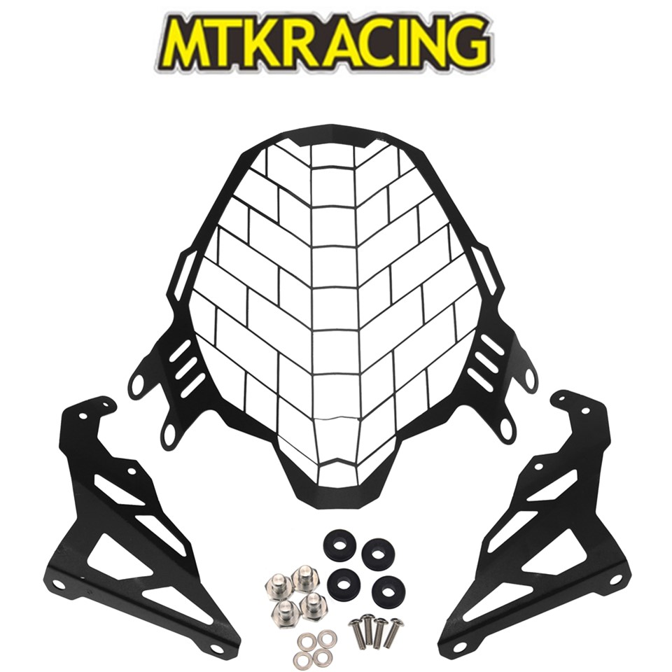 MTKRACING pour SUZUKI v-strom 650 vstrom 650 2017 2018 2019 moto modification phare Grille garde couvercle protecteur