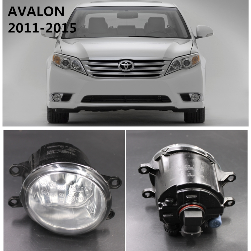 For TOYOTA AVALON 2011-2015  Car Styling Fog Lights Front Bumper  Halogen Fog Lamps  T02592124C for car styling front bumper fog lights para toyota iq kgj1 ngj1 2012 2013 fog lamps esquerda direita halogen 1set