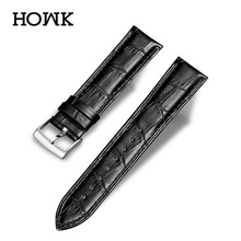 Hot Sale Genuine Leather Watchband Black Brown Coffe Watch Strap For Tissot  24mm 22mm 20mm