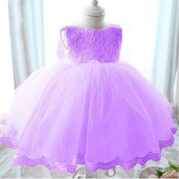 2017 moda vestidos de novia niños tul lavanda rojo azul Rosa niño ...